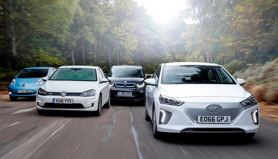 dojazd elektromobilov