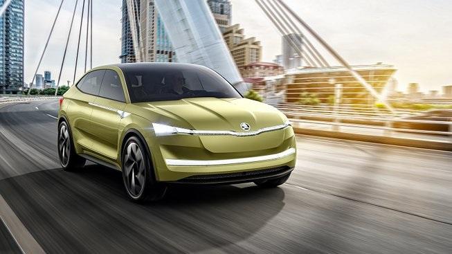 Elektromobil Škoda Vison E