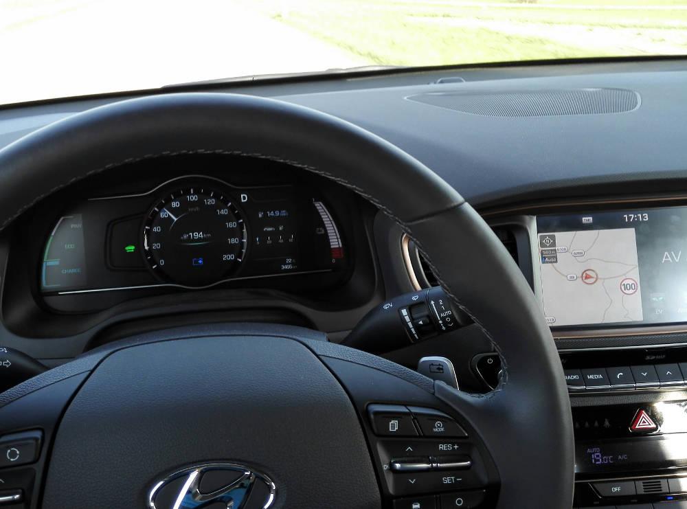 Elektrický skúšobný pohon Hyundai Ioniq