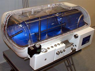 Průřez nádrží na kapalný vodík