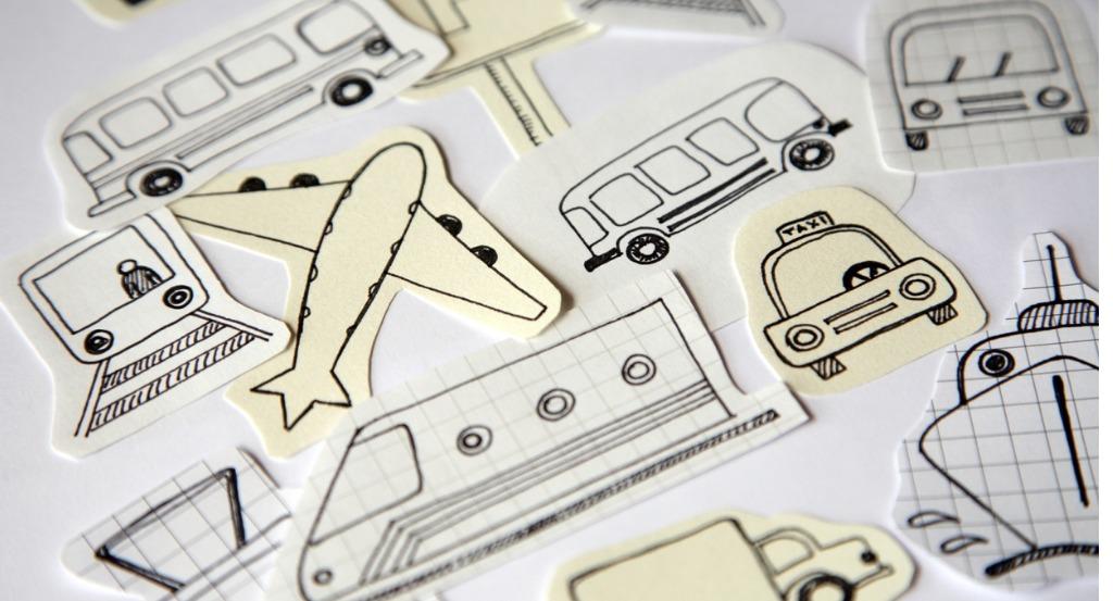 lietadlá a vlaky