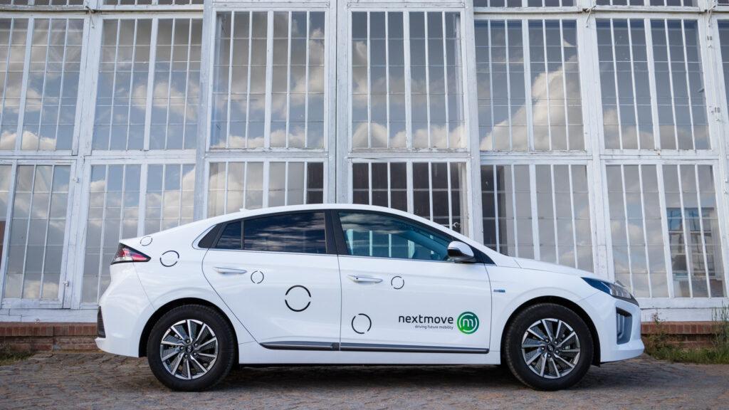 nextmove elektrický automobil Hyundai Ioniq v Lipsku